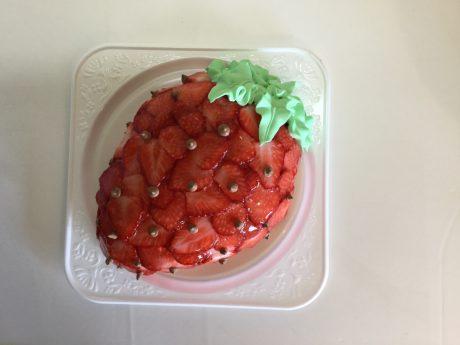 イチゴさらにスライスいちごはシンプルいちご相当トッピング価格加算